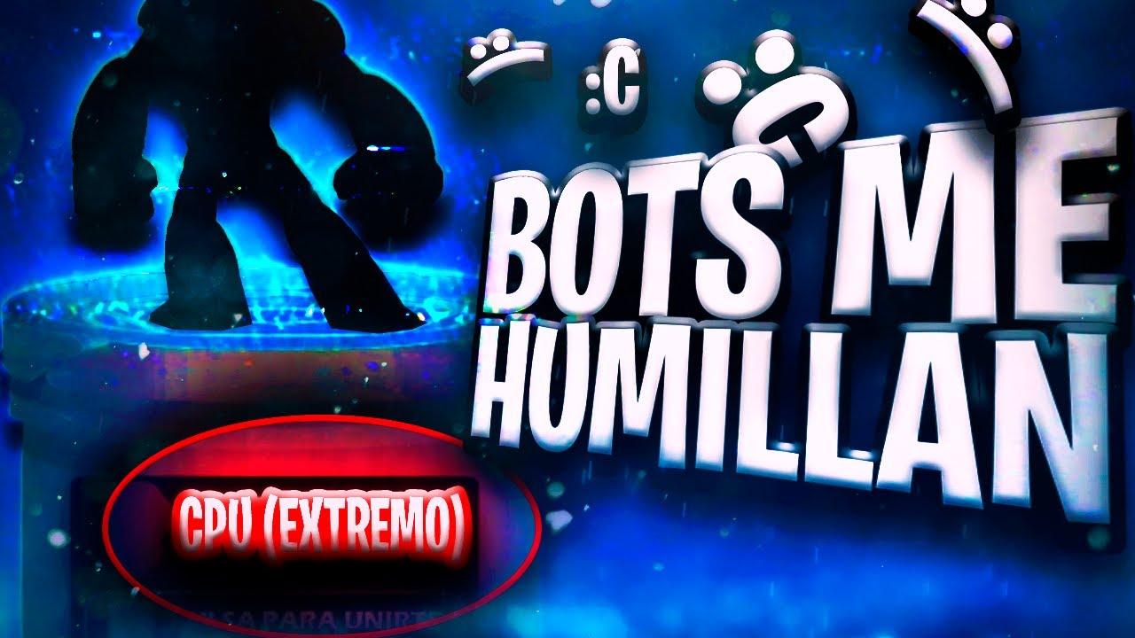 🤣BOTS ME HUMILLAN CON LAS NUEVAS DIFICULTADES ( EXTREME Y CHOSEN )🤣-Brawlhalla gameplay en español