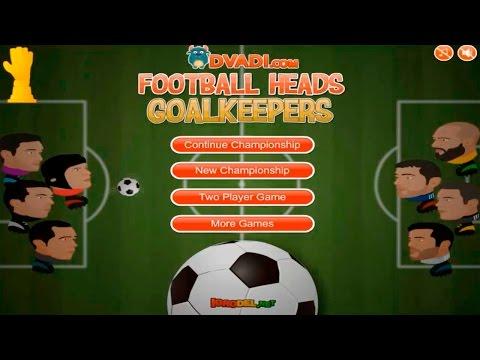 Футбольные головы: Лига Вратарей (Флеш Игра) Ждём Лига Чемпионов 2016-2017 и чм2018