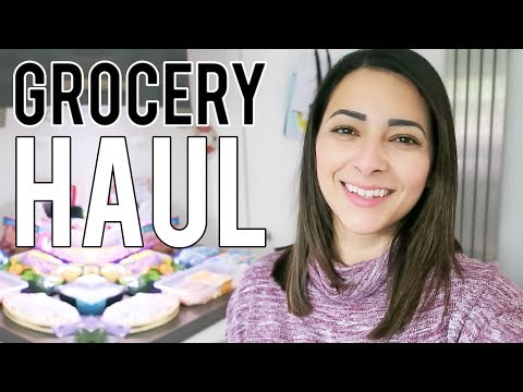 GROCERY HAUL UK  Weekly Food Shop for a Family of 4   Ysis Lorenna