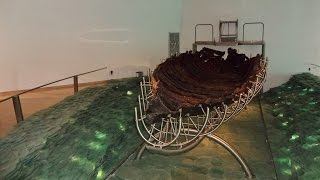 The Ancient Galilee Boat (Jesus Boat) at the Yigal Allon Centre