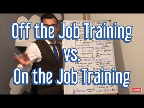 On The Job vs. Off The Job Training (Pros & Cons)