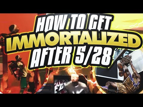 HOW TO GET IMMORTALIZED IN 2K18 AFTER 5/28😲• HOW WE CAN ALL STAND TOGETHER AND GET IMMORTALIZED