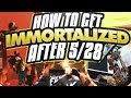 HOW TO GET IMMORTALIZED IN 2K18 AFTER 5/28