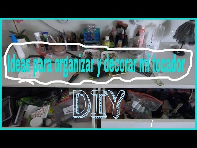 organiza y decora conmigo mi tocador con separadores del DOLLAR TRE