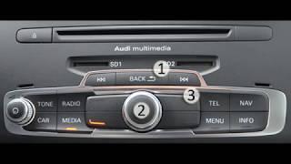 Réinitialiser le MMI sur AUDI A1 et Q3 (RESET MMI)