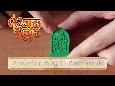 Maharaja Production Blog #1 - Plastic And Cardboard Components