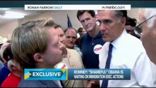 Mitt Romney: Obama Immigration Strategy is 'Shameful,' 'Inappropriate'