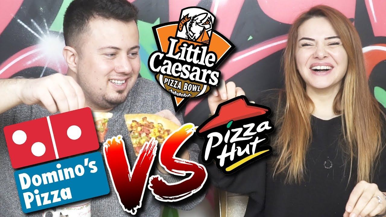 Dominos vs Pizza Hut vs Little Caesars Pizza!