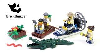 Kijk LEGO City 60066 Moeraspolitie Startset filmpje