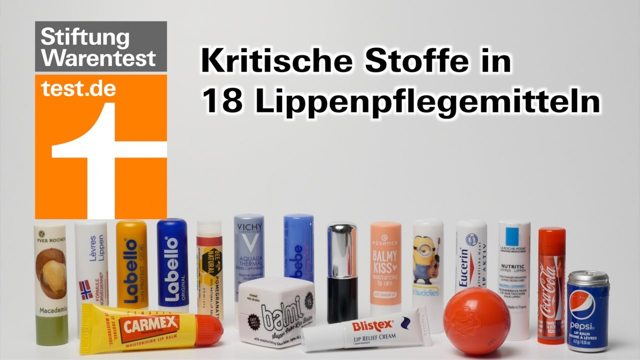 test lippenpflege kritische stoffe in vielen pflegestiften facts tipps zu. Black Bedroom Furniture Sets. Home Design Ideas
