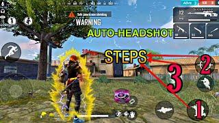 SIT-UP HEADSHOT TRICK/BUG -2020 FREE FIRE BATTLEGROUND AUTO-HEADSHOT TIPS AND TRICKS PART-2