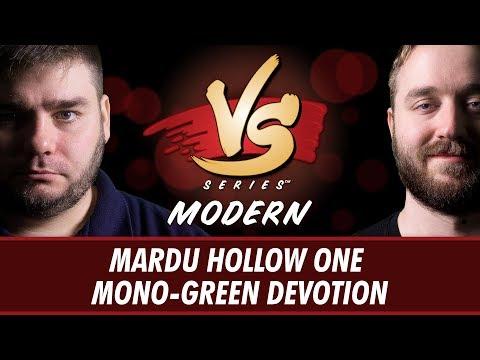 6/19/2018 -  Todd VS Ross: Mardu Hollow One VS Mono-Green Devotion [Modern]