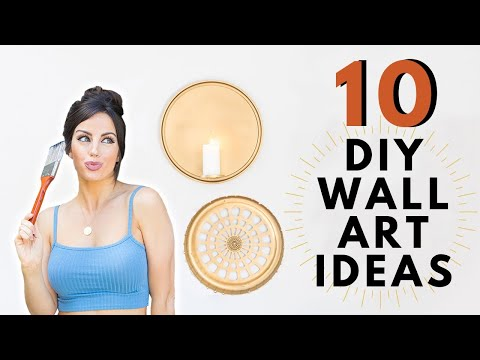10-diy-wall-art-decor-ideas-|-trash-to-treasure-mother's-day-gift-ideas-for-free!