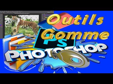28#Outils Gomme,Gomme D'arrière Plan Et Gomme Magique En Photoshop CS6