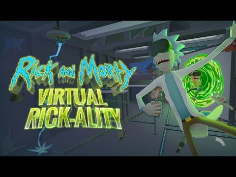 Rick and Morty Virtual Rick-Ality | First Play | PS4 VIRTUAL REALITY [ PSVR ]