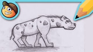LEARN TO DRAW? HYENA