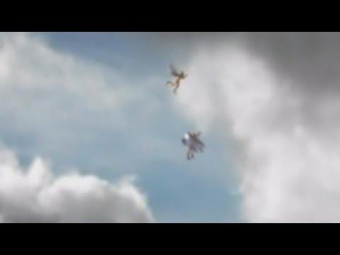 DOS �NGELES VOLANDO EN LOS CIELOS DE BRASIL CAPTADOS EN V�DEO (EXPLICACI�N)