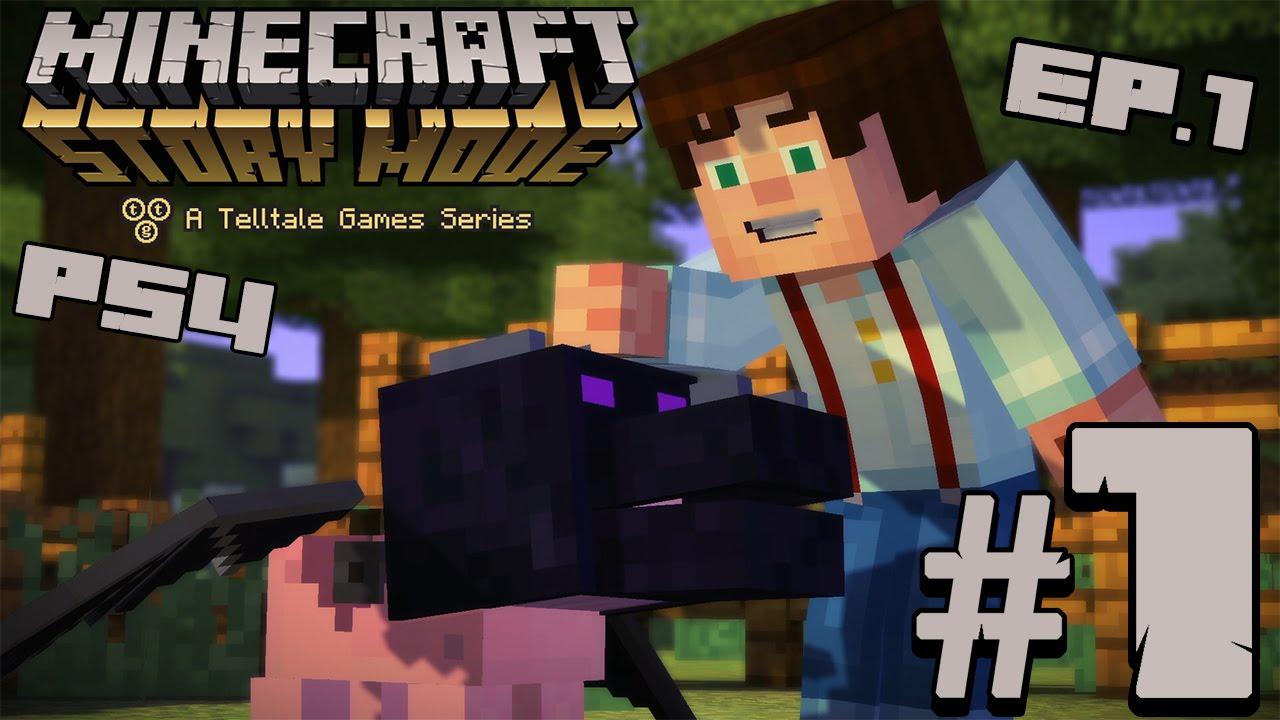 MINECRAFT STORY MODE PS Der Orden Des Schweines LETS - Minecraft schone holzhauser