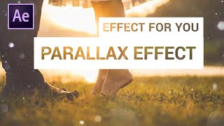 Parallax Slideshow Effect in After Effect | After Effects Tutorial | By Effect for You