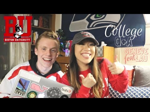 boston university and college q+a // jake brewer feat. geneve lau