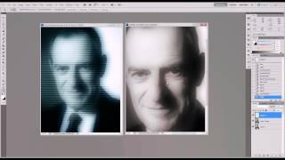 Photoshop CS5 Tutorial: Television Scan Line Effect
