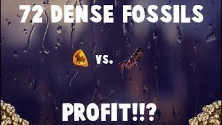 72 DENSE FOSSILS vs. Fingerless Silk gloves! 🔥 (Path of Exile Fossil Crafting)