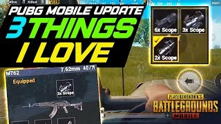 3 MORE THINGS I LOVE IN THE NEXT PUBG MOBILE UPDATE