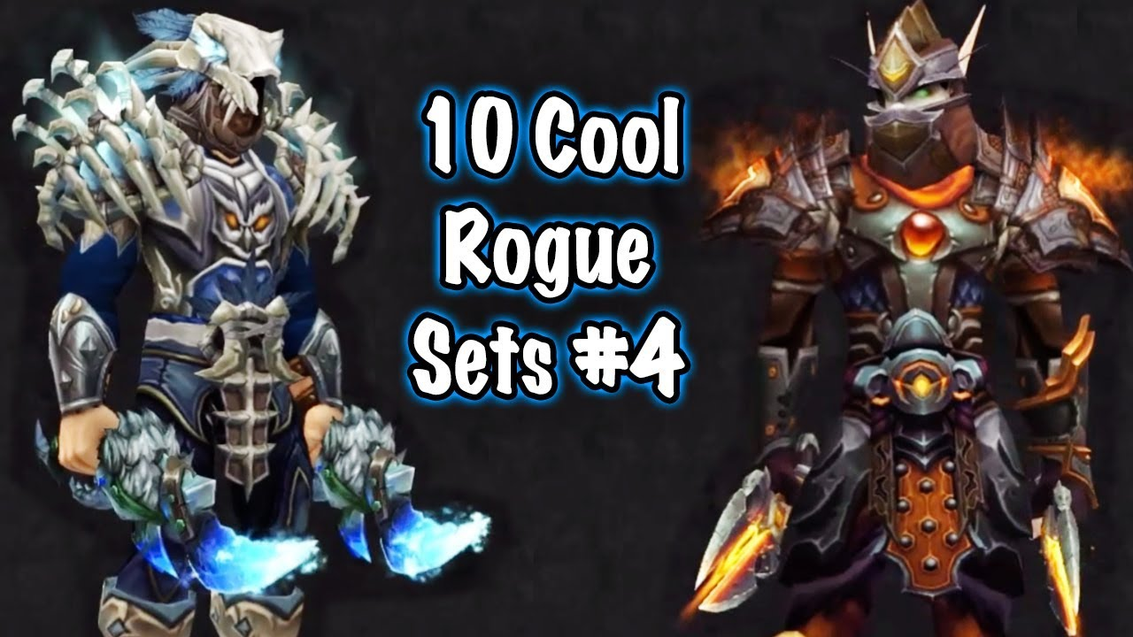 Jessiehealz 10 Cool Rogue Transmog Sets 4 World Of Warcraft