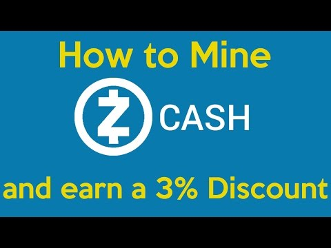 ZCash | Wallet & Mining Tutorial | Getting Started | Day 4 - Coupon Code 5JsnkX