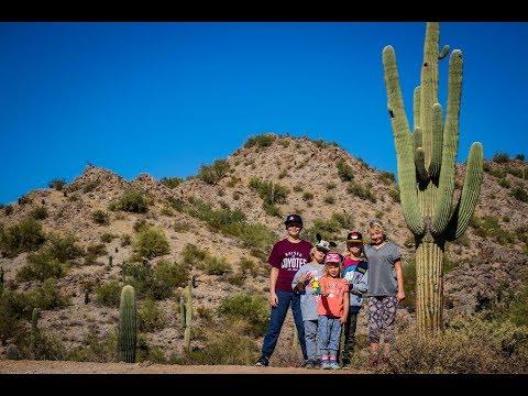 Hiking in the Sonoran Desert