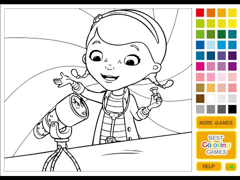 Doc Mcstuffins Colour And Play DisneyDiscover Indian