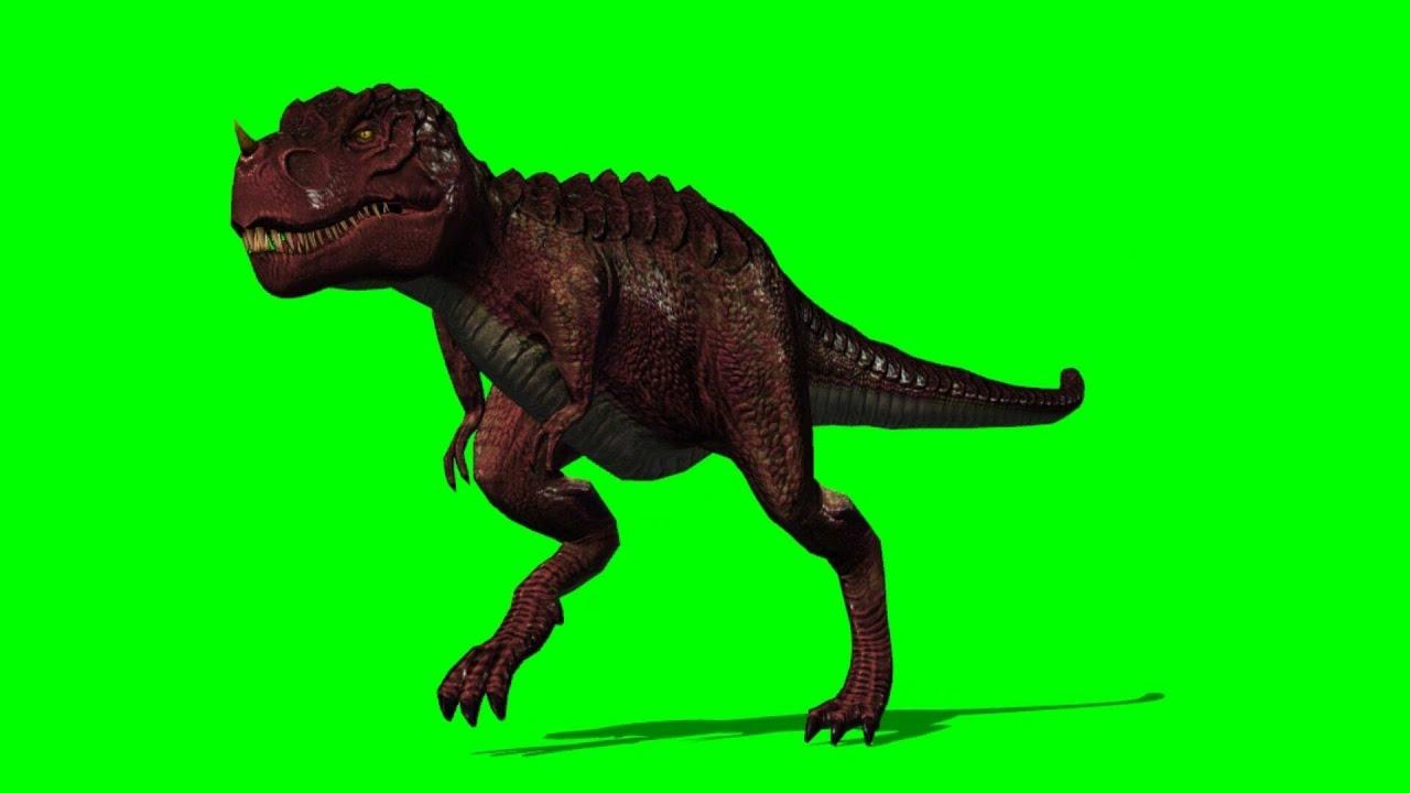 T-Rex run by green screen A - YouTube - photo#1