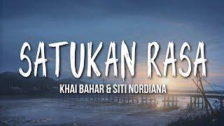 Siti Nordiana Khai Bahar Satukan Rasa MP3