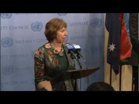 Press briefing by EU High Representative Catherine Ashton following the E3+3 meeting