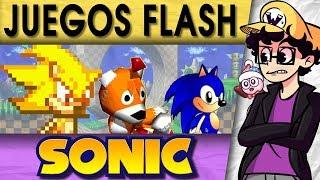 Juegos Flash de Sonic del 2001 - 2010