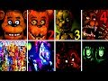 50+ JUMPSCARES Five Nights at Freddy's 6 FNAF 1 2 3 4 SL World Simulator