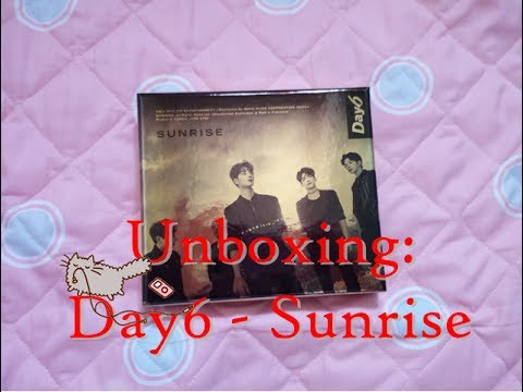 Unboxing: DAY6 데이식스 - Sunrise 1st full album (ITA)
