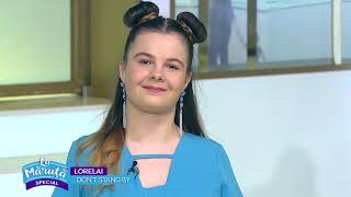 La 16 ani, Lorelai lanseaza prima piesa in limba engleza