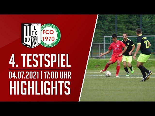 Viktoria Kelsterbach - FC Offenthal | 4. Testspiel | Highlights | 04.07.2021