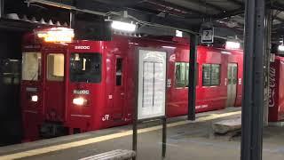 キハ220形 延岡駅発車