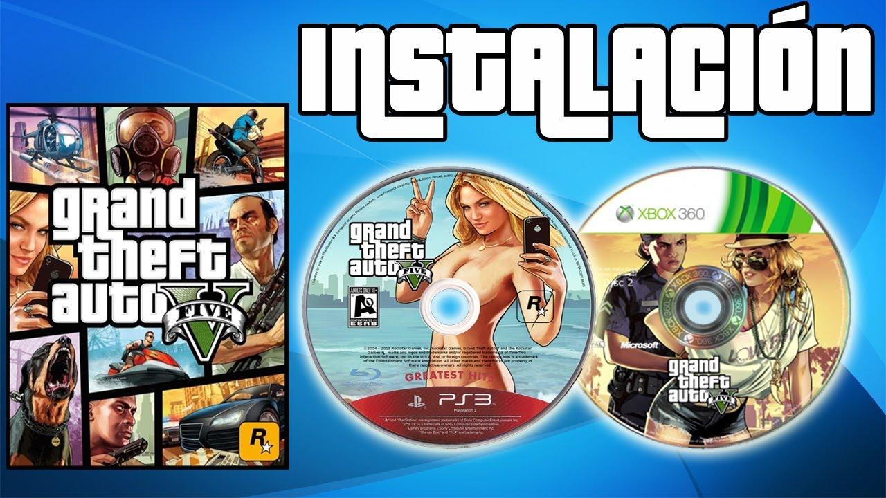 GTA 5 - Cómo Instalar Los 2 Discos Correctamente
