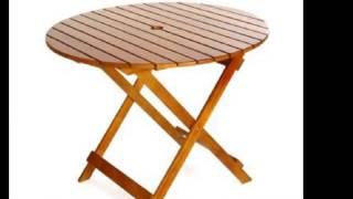 [노아디자인가구] 접이식으로 제작된 원형 테이블입니다!…