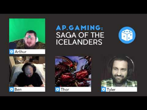 Saga of the Icelanders - Week 1 Part 1 - Character Creation & Opening Moves