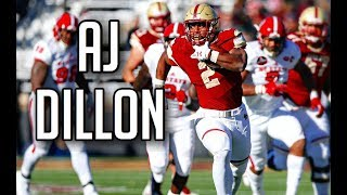"AJ Dillon ""Middle Child"" Boston College Highlight Reel 