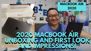 2020 MACBOOK AIR UNBOXING AND FIRST LOOK AND IMPRESSIONS!    DORBIE D EXPLORER