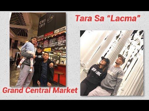 Pasyal Tayo! Grand Central Market -Sari-Sari Store    Lacma Los Angeles    Vlog #1