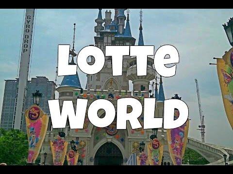 """Parque de Diversión de """"Escalera al Cielo"""": ¡Lotte World! ♥ #DTEC"""