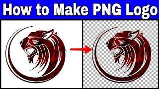 كيفية جعل PNG شعار في picsart ل أشرطة فيديو يوتيوب   كيفية جعل صورة png