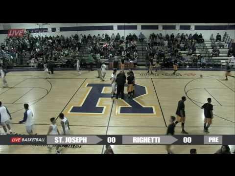 St. Joseph Knights versus Righetti Warriors 02/03/17