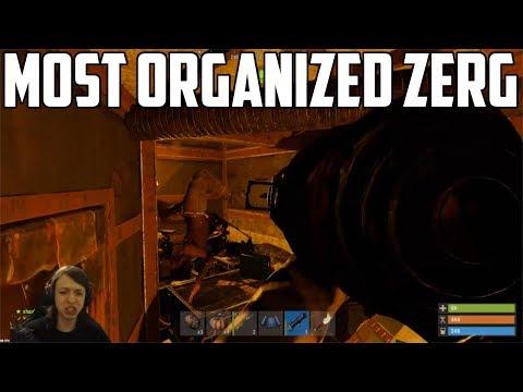 RUST - THE MOST ORGANIZED ZERG RAIDS